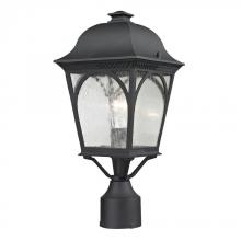 Elk Cornerstone 8301EP/65 - Cape Ann 1 Light Outdoor Pendant Lantern In Matte Textured Black
