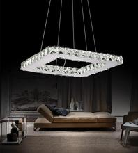 Crystal World 5080P15ST-S - 20 Watt LED Chandelier