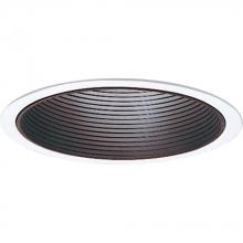 Progress P8066-31 - Black Recessed Lighting Trim