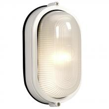 Galaxy Lighting 305114 WH - Cast Aluminum Marine Light - White w/ Frosted Glass