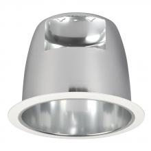 "Galaxy Lighting 600CH - 6"" Open Reflector Trim for RH Housing- White Ring with Polished Chrome Reflector"