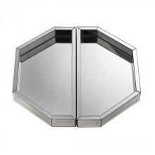 Dimond 173-010 - Set of Two Mirrored Trays
