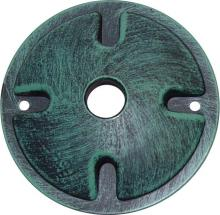 Nuvo SF76/667 - Mounting Plate; 1 Light; Antique Verdigris Finish