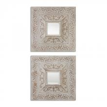 Uttermost 13919 - Katell Metal Square Mirrors, S/2