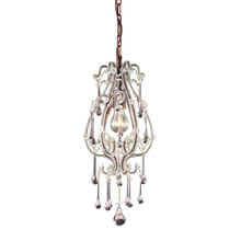 ELK Lighting 12013/1RS - One Light Rust Down Mini Pendant