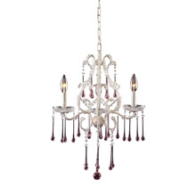 ELK Lighting 4001/3RS - Opulence 3 Light Chandelier In Antique White And