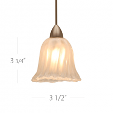 WAC US HM1-531FR/DB - FLORENTINE PENDANT FOR FLEXRAIL1 120V 50