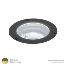 WAC US 5031-27BBR - LED LANDSCAPE IN-GROUND BRASS 12V 3000K