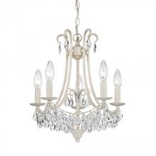 Sterling Industries 122-021 - Mini Chandelier In Antique Cream And Clear