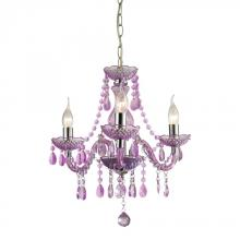 Sterling Industries 144-013 - Theatre-3 Light Purple Mini Chandelier