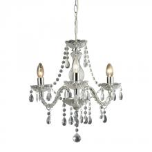 Sterling Industries 144-015 - Theatre-3 Light Clear Mini Chandelier