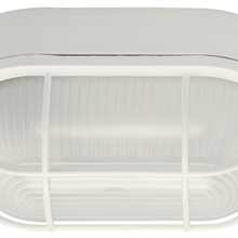 Canarm IOL1611 - Outdoor, IOL16 WH, 1 Bulb Outdoor Marine Light, Frosted Glass, 60W Type A or B