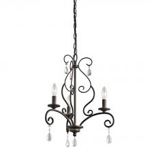 Kichler 43447OZ - Mini Chandelier 3Lt