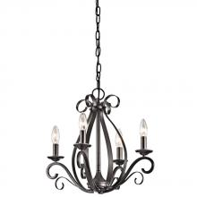 Kichler 43462SMG - Mini Chandelier 4Lt