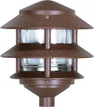 "Nuvo SF76/632 - 1 Light - 8"" - Pathway Light - Two Louver, Small Hood"