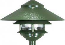 "Nuvo SF76/634 - 3 LOUVER LARGE 10"" TOP PAGODA"