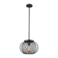 ELK Lighting 14255/1 - Yardley 1 Light Pendant In Oil Rubbed Bronze