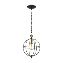 ELK Lighting 14510/1 - Loftin 1 Light Pendant In Oil Rubbed Bronze With